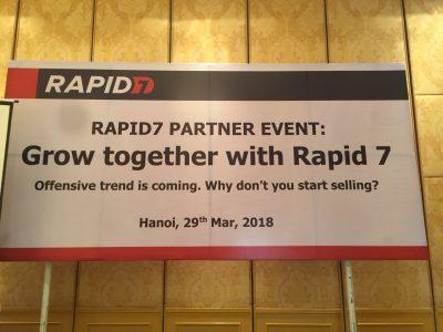 Rapid7 phát động kinh doanh 2018 tại Việt Nam