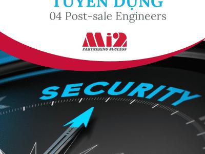 Mi2 Hà Nội tuyển dụng 04 Post-sale Engineer