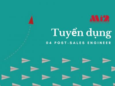 Mi2 Hà Nội tuyển dụng 04 Post-sales Engineer