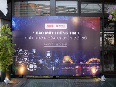 Hội thảo Mi2-McAfee: Vai trò của Bảo mật thông tin trong Chuyển đổi số tại thành phố Đà Nẵng