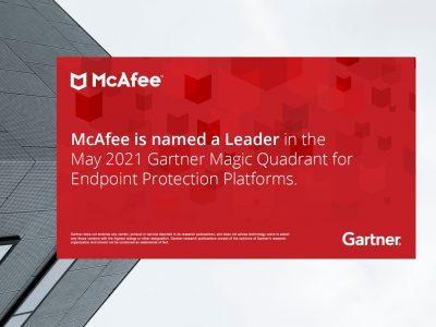 McAfee được Gartner vinh danh là một trong những công ty dẫn đầu về nền tảng bảo mật cho thiết bị đầu cuối