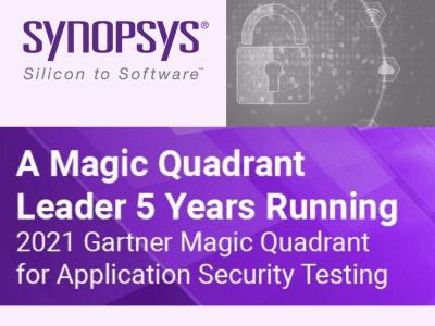 SYNOPSYS đứng đầu lần thứ 5 liên tiếp về mảng kiểm tra bảo mật ứng dụng theo Gartner